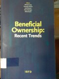 Beneficial Ownership: Recent Trends
