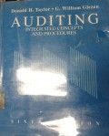 Auditing: Integrated Concepts and Procedures